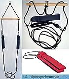 H&K-Sportperformance Schlingen Suspension Functional Sling Trainer inkl. Abstandshalter mit roten Schlaufen
