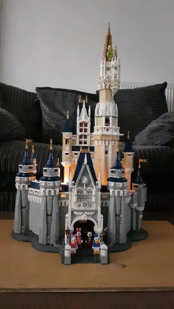 Disney World Walt Disney World Lego Castle