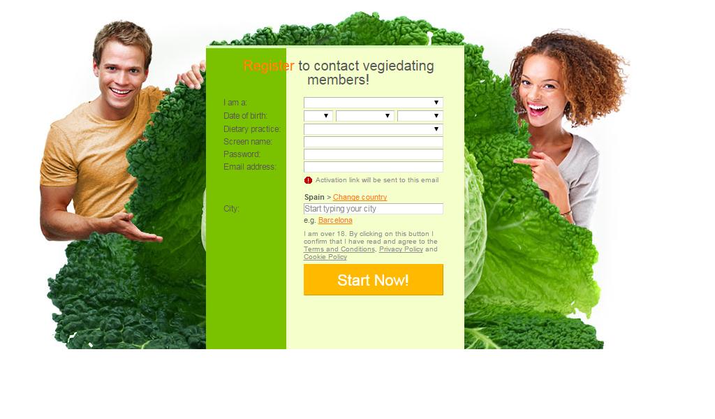 Partnersuche für vegetarier