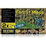ExoTerraSustratoNaturalForestMoss- Paquete de 2 Unidades x 7 L - Total: 14 L