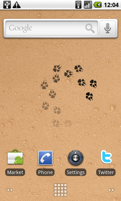 lonely coyote live wallpaper apps f r android. Black Bedroom Furniture Sets. Home Design Ideas