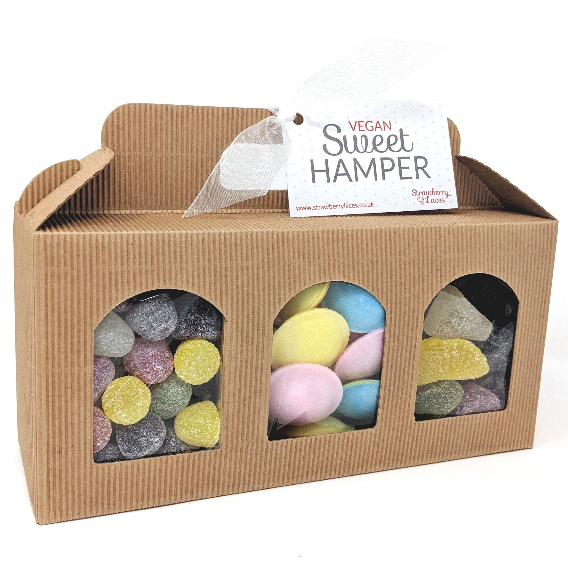 Vegan Sweet Hamper Box Great Vegetarian Gift For Birthday Easter Christmas Etc