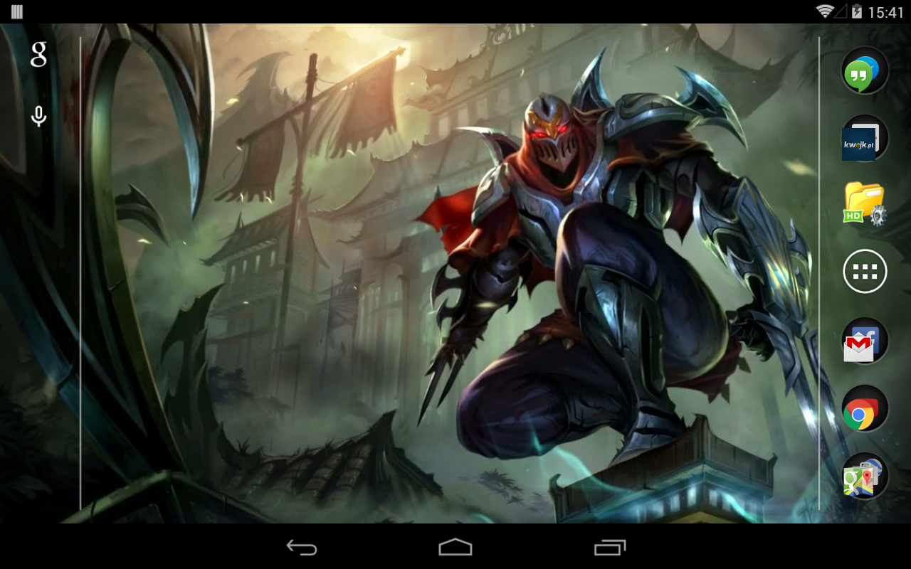 wallpaper android lol: Zed League Of Legends Live Wallpaper: Amazon.co.uk
