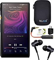FiiO M11 HiFi Lossless Music Player with Bluetooth 4.2 Connectivity Bundle with 1MORE Piston Fit E1009 Earphones, Silicon Pow
