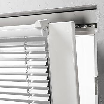 aluminium klemmfix alu jalousie plissee fenster. Black Bedroom Furniture Sets. Home Design Ideas