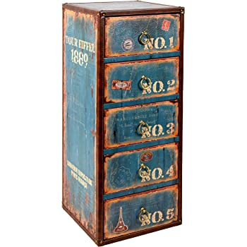 Lieblich Ts Ideen Kommode Regal Schrank Vintage Antik Buch Design Standregal 30 Cm X  73 Cm