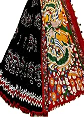 Indian Hand Block Printed Cotton Mul Sarees For Women Wedding Designer Party Wear Traditional Black Sari.