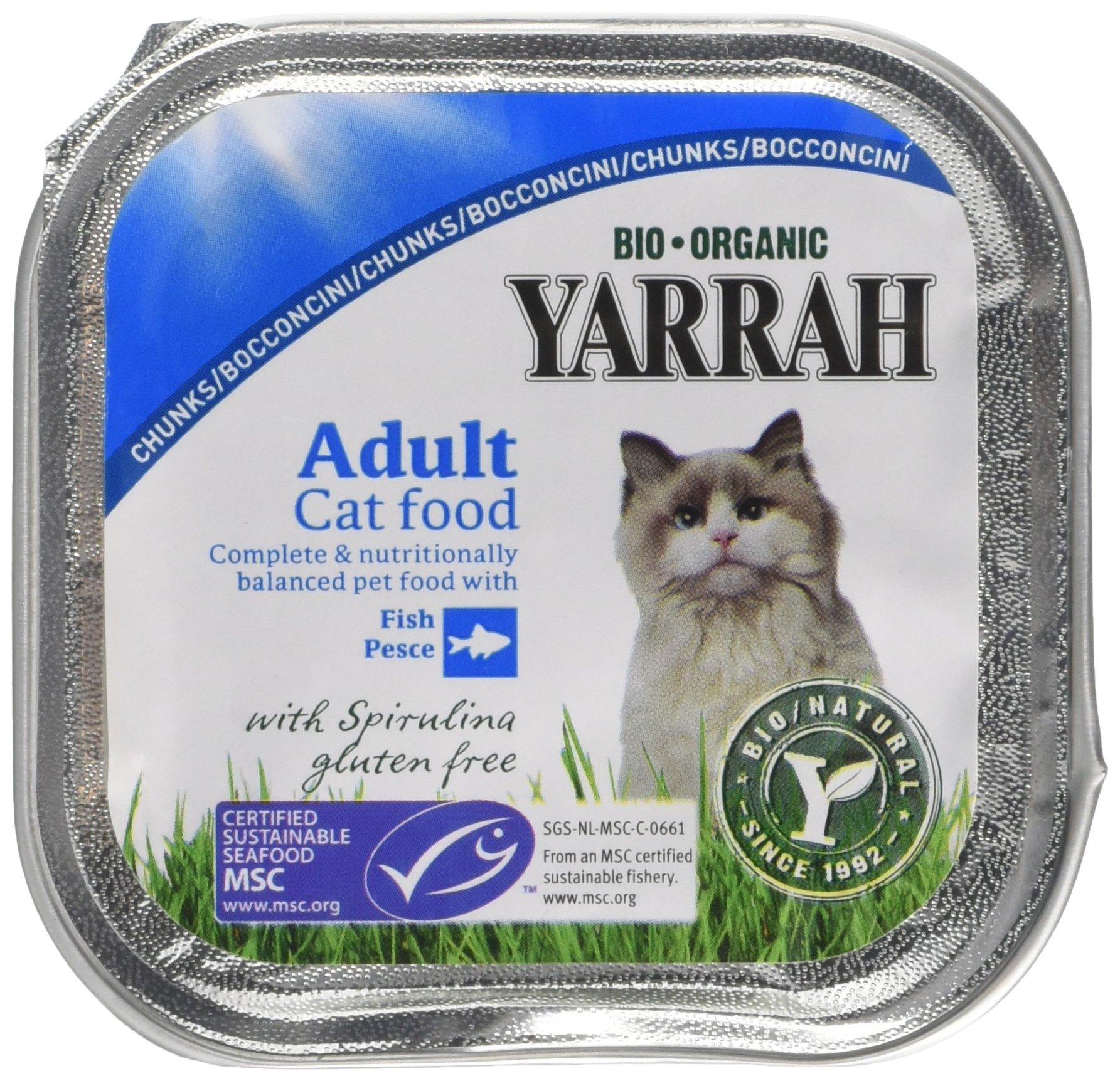 Yarrah – Pistolas para comida de gatos, 100 g, 16 unidades