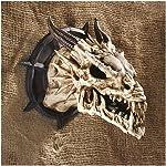 Design Toscano Horned Dragon Skull Wall Trophy