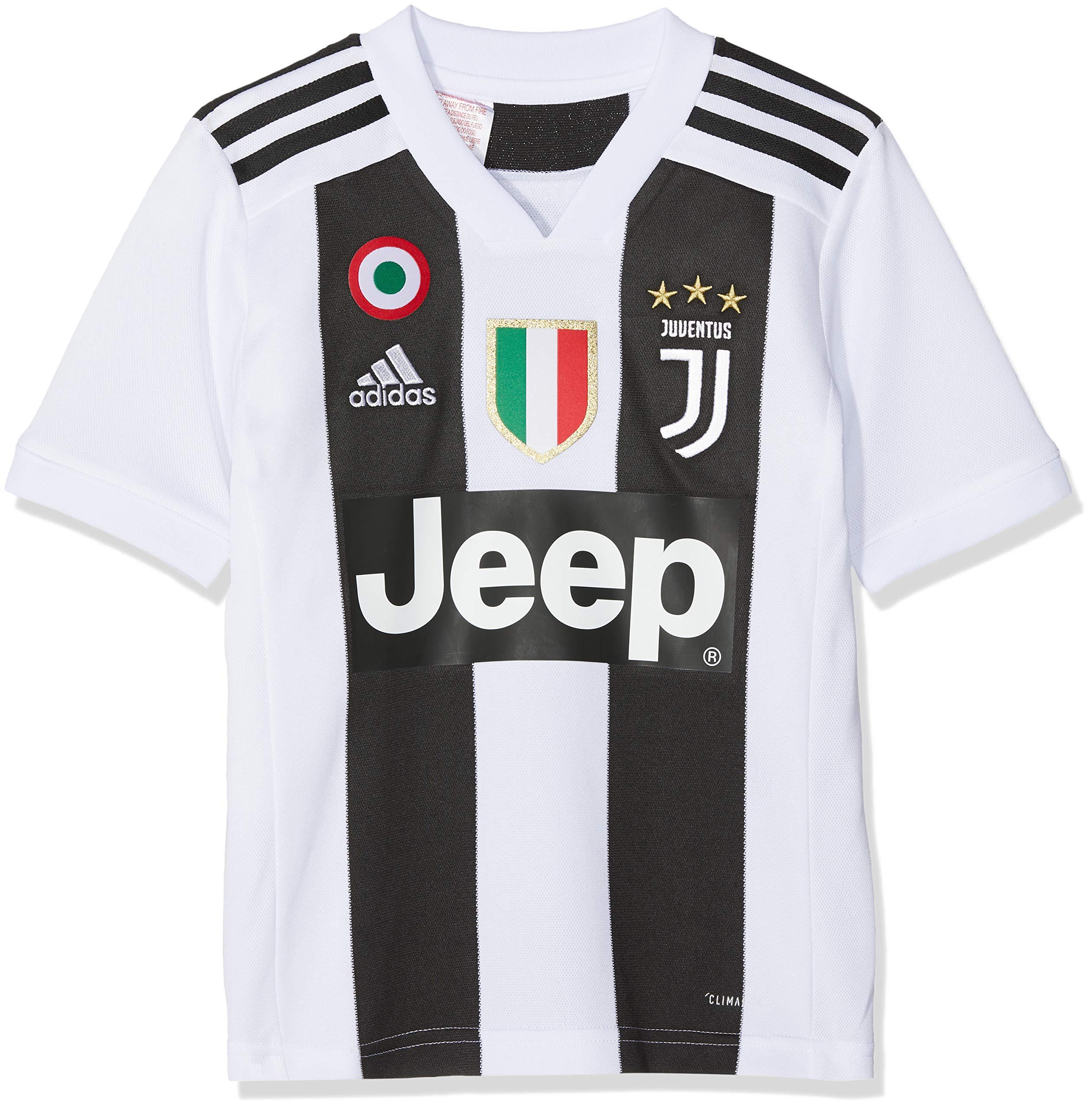 adidas Juve H JSY Y, Maglia Gara Home 2018/2019 Cristiano Ronaldo, Bambino 1 spesavip