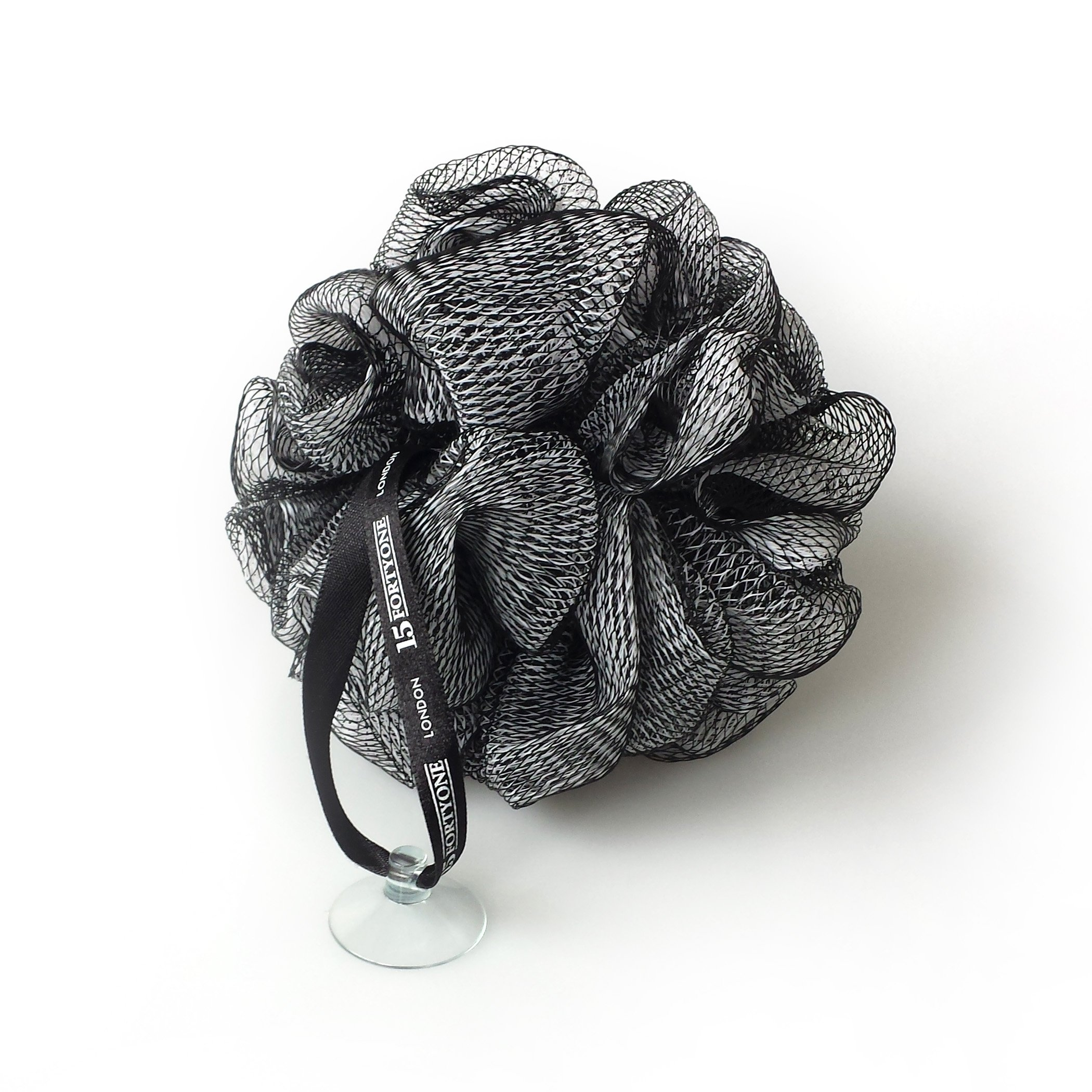 1541 London Exfoliating Bath & Shower Body Puff/Scrunchie/Buffer (Olive Black)