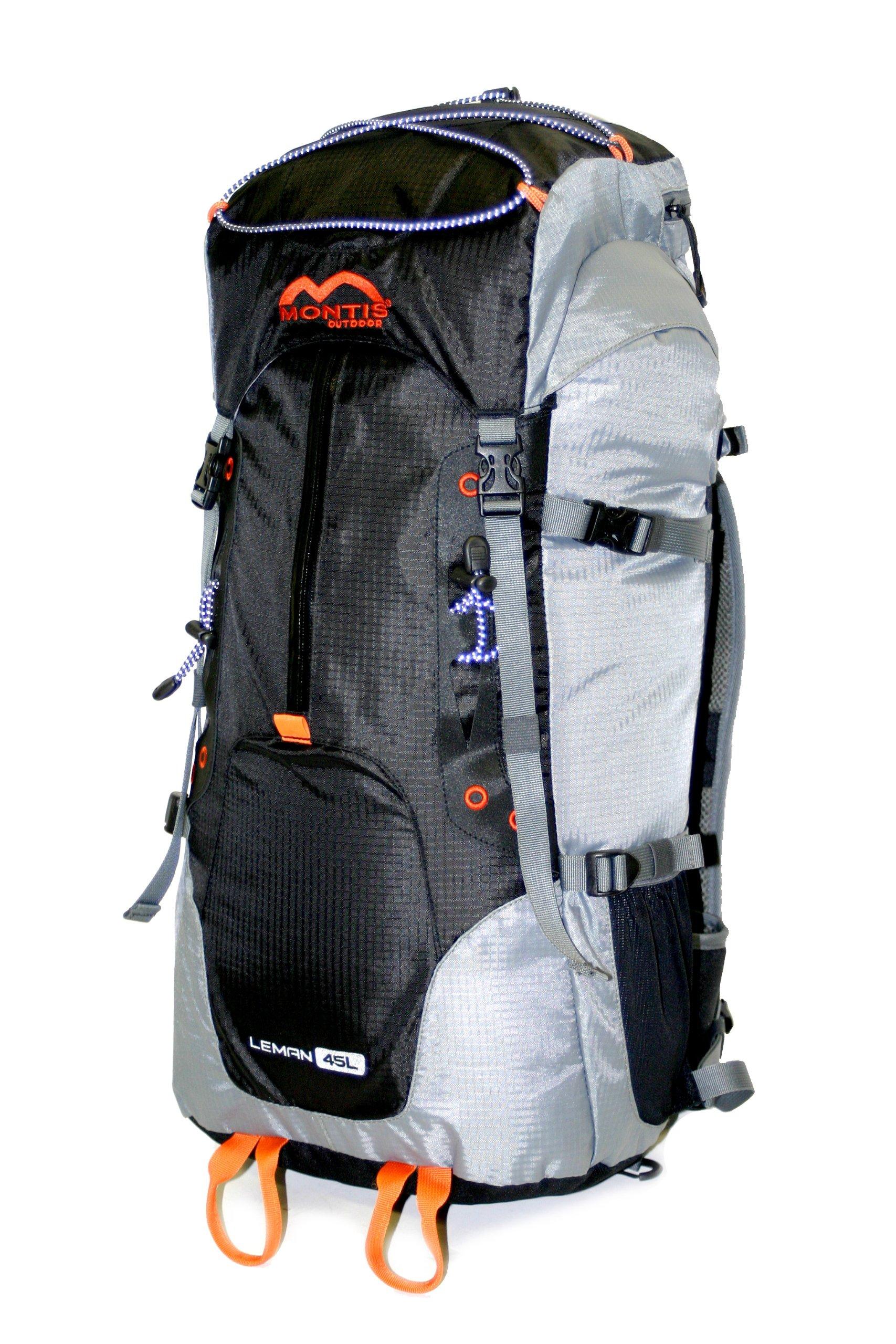 91gfXCmp6TL - MONTIS Leman 45, Mochila de Ruta, Trekking y Viajes, 45 l, 1300 g