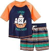 Simple Joys by Carter's - Costume da bagno per bambini e neonati, 2 pezzi