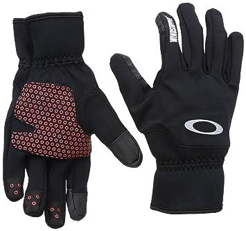 oakley bike gloves 1yjc  Oakley Gloves Core Windstopper Black black Size:Small