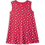Amazon Brand - Jam & Honey Girl's Cotton A-Line Knee-Length Casual Dress