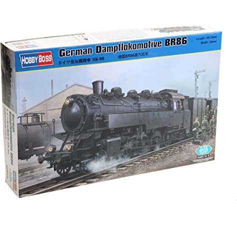 Hobbyboss 1:72 WR360 allemande C12 Locomotive Model Kit