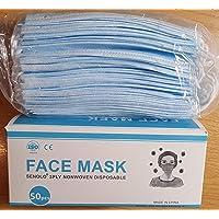 100 Stück NEUDORF Mundmaske Mund Nase Abdeckung Maske B&E's versendet aus Deutschland mit DHL/Vlies-Filter 3-lagig…