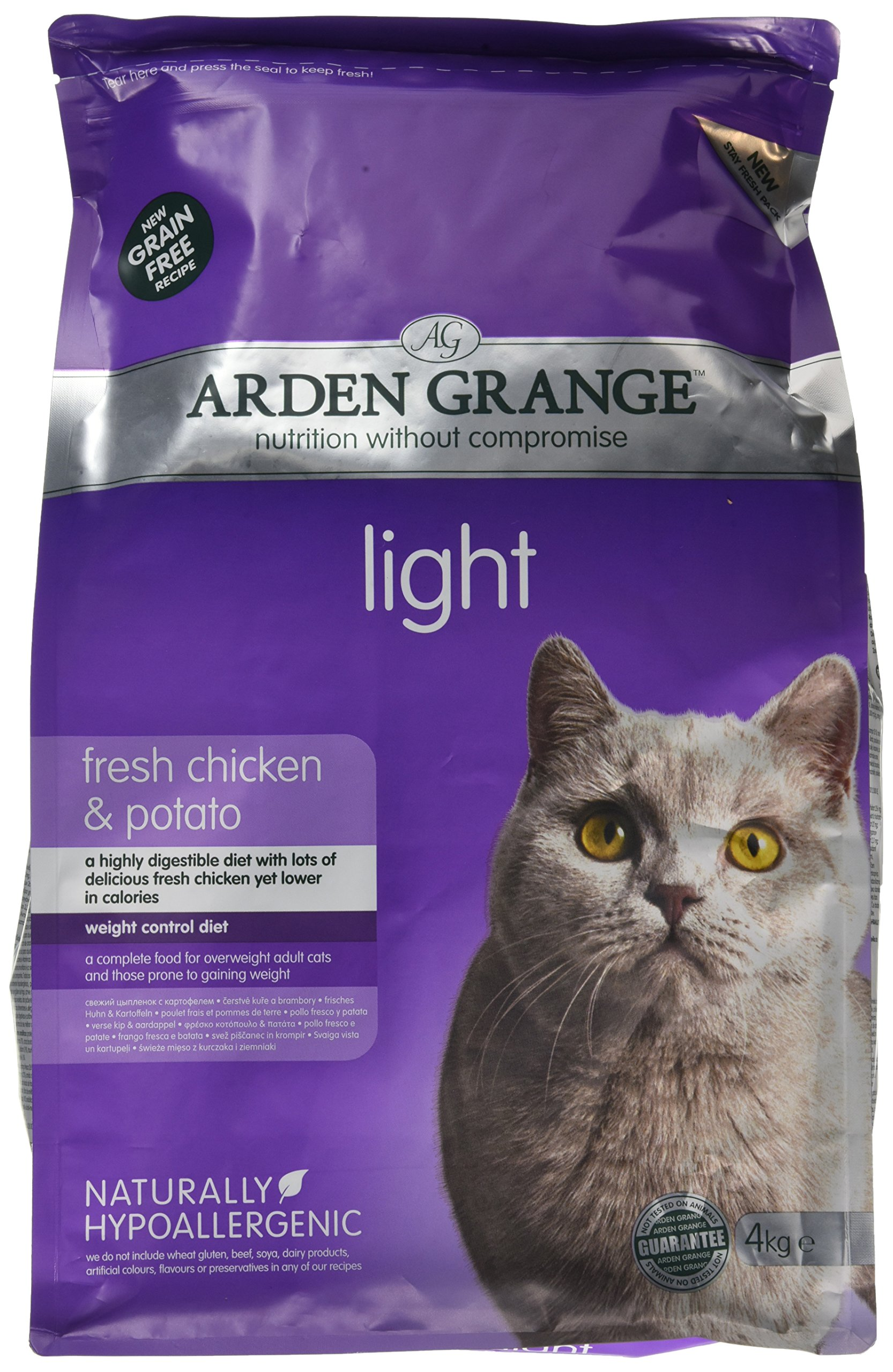 Arden Grange Light Cat Dry – Comida para Gatos