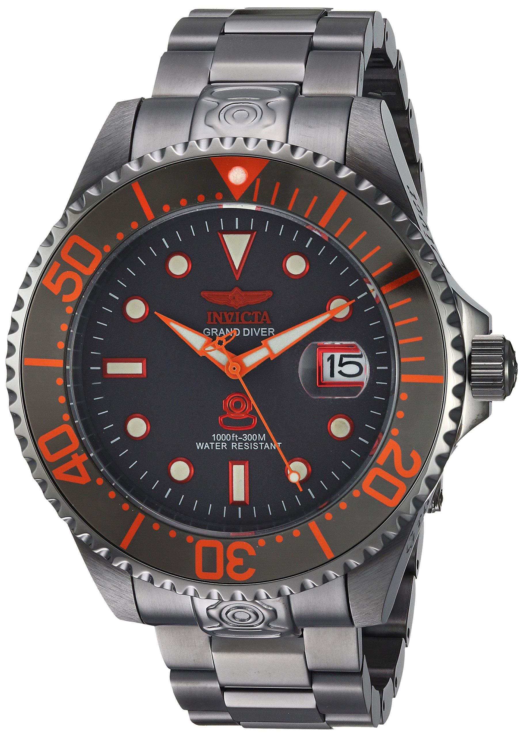 Invicta 22216 Pro Diver Reloj para Hombre acero inoxidable Automático Esfera gris