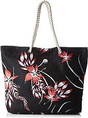 Roxy Printed Tropical Vibe, Borsa da Spiaggia Stampata Donna