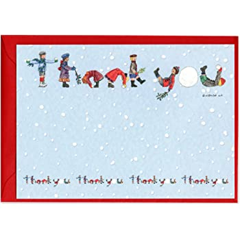 Santa Christmas Thank You Notes - Pack of 10: Amazon.co.uk ...