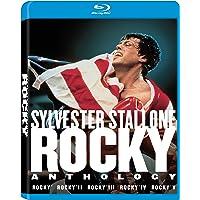 Rocky Anthology 5 Movies Collection: Rocky (1976) + Rocky II (1979) + Rocky III (1982) + Rocky IV (1985) + Rocky V (1990)