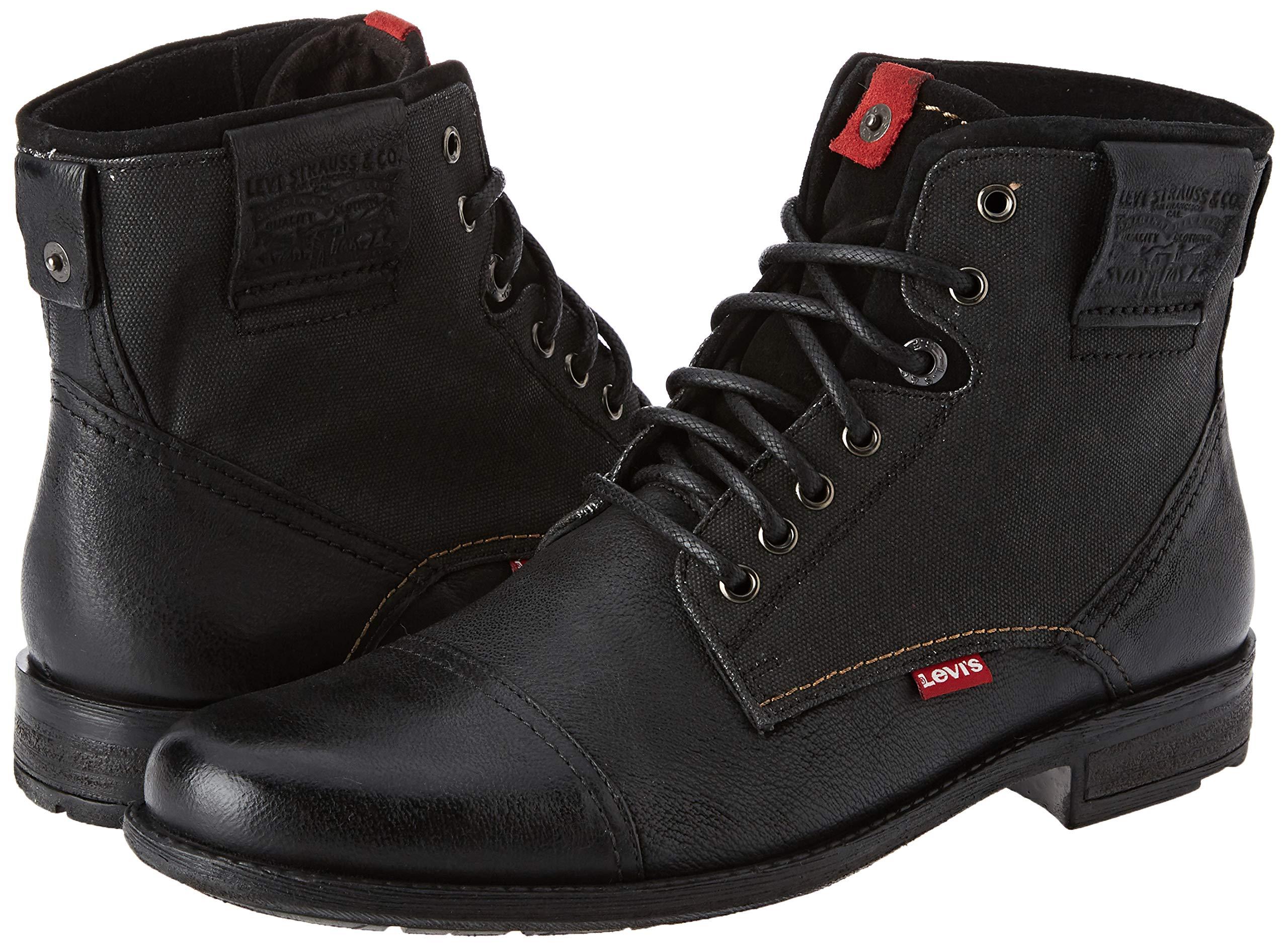 Levi's Men's Fowler Biker Boots 5