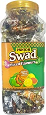 Swad Original and Swad Mixed Candies, Kaccha Aam, Imli, Lemon and Guava, 300 Candies