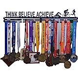 RUNWYND Think Believe Achieve Medal Steel Hanger - Black