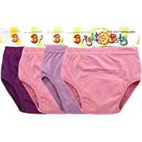 Garcon approx 2-3yr Bright Bots Washable Potty Training Pants Culotte dapprentissage 4pk Extra Large with PUL Lining