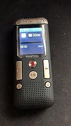 Philips Dvt2510 Digitales Diktiergerät Kompaktes Aufnahmegerät Mp3 Recorder 2 Mikrofon Stereoaufnahme Farbdisplay 8 Gb Interner Speicher Usb Anschluss Plug Play Win Mac Linux Anthrazit Bürobedarf Schreibwaren