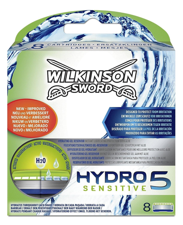 wilkinson sword hydro 5 sensitive men u0027s razor blades x4 amazon co