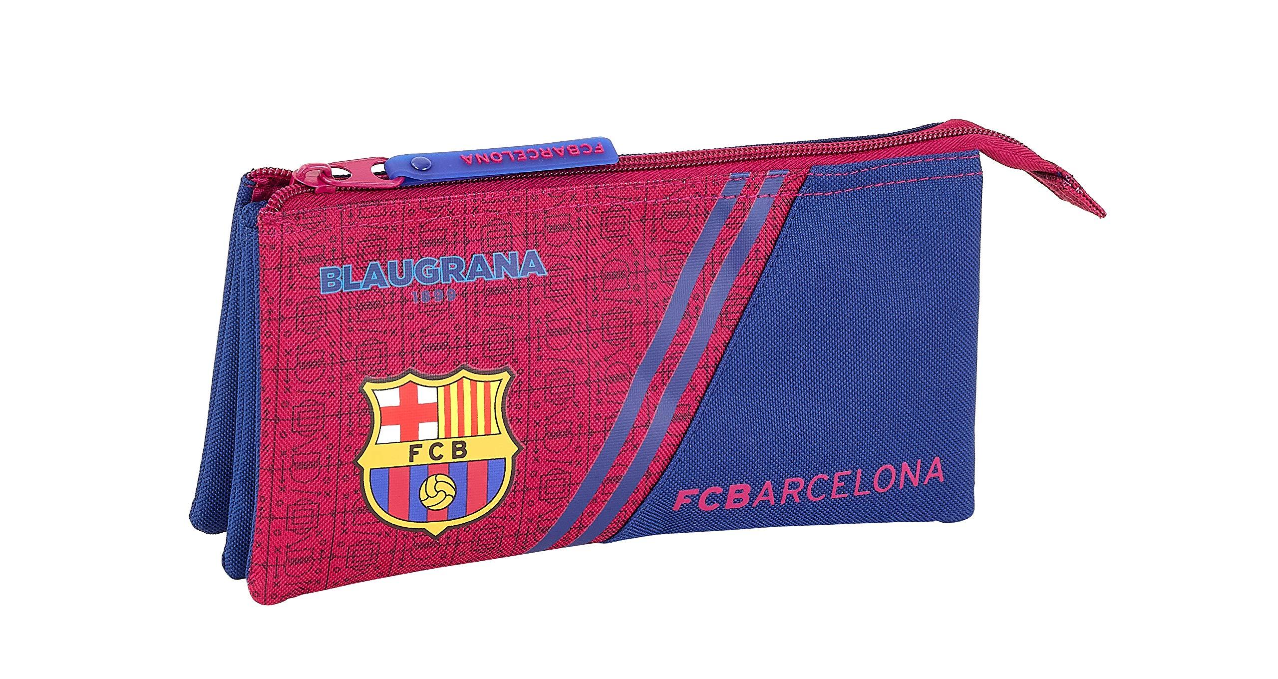 FC Barcelona Corporativa Oficial Estuche Escolar 220x30x100mm