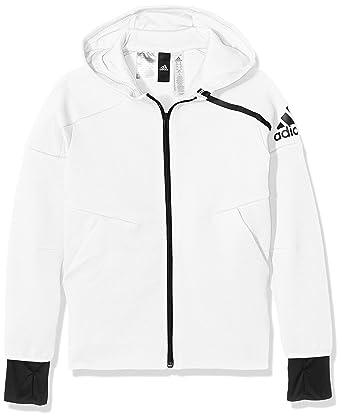 veste adidas blanche capuche