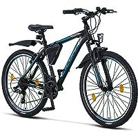 Licorne Bike Effect Premium Mountainbike Aluminium Scheibenbremse/V-Bremse Fahrrad für Jungen, Mädchen, Herren und Damen…