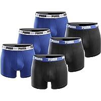 PUMA Boxershort 6er Pack Herren Basic Black Limited Edition