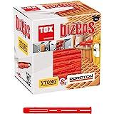TOX cheville à expansion parallèle Bizeps 8 x 90 mm, 50 pièces, 00910015