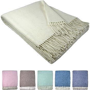 Stts International Wohndecke Wolldecke Decke Sehr Weiches Plaid