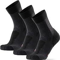 Light Outdoor Walking Socks for Men Women & Children, in Merino Wool, Anti-Blister Hiking & Trekking Socks, 3 Pack