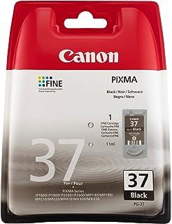 Original Tinte Canon Pg37 Pg 37 2145b001 Premium Drucker Patrone Schwarz 11 Ml Bürobedarf Schreibwaren