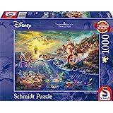 Schmidt Spiele- Disney Puzzle, 59479, Multicolore