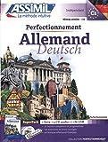 Perfectionnement Allemand : Avec une clé USB (4CD audio)