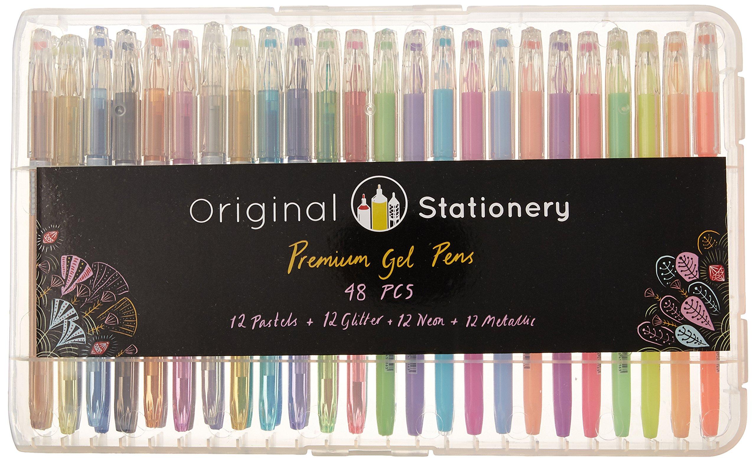 Bolígrafos de gel – diseñado para colorear para adultos con ...