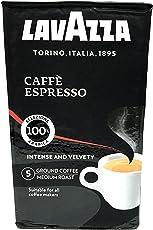 Lavazza Caffe Espresso, 100% Premium Arabica Ground Coffee, 250 gm
