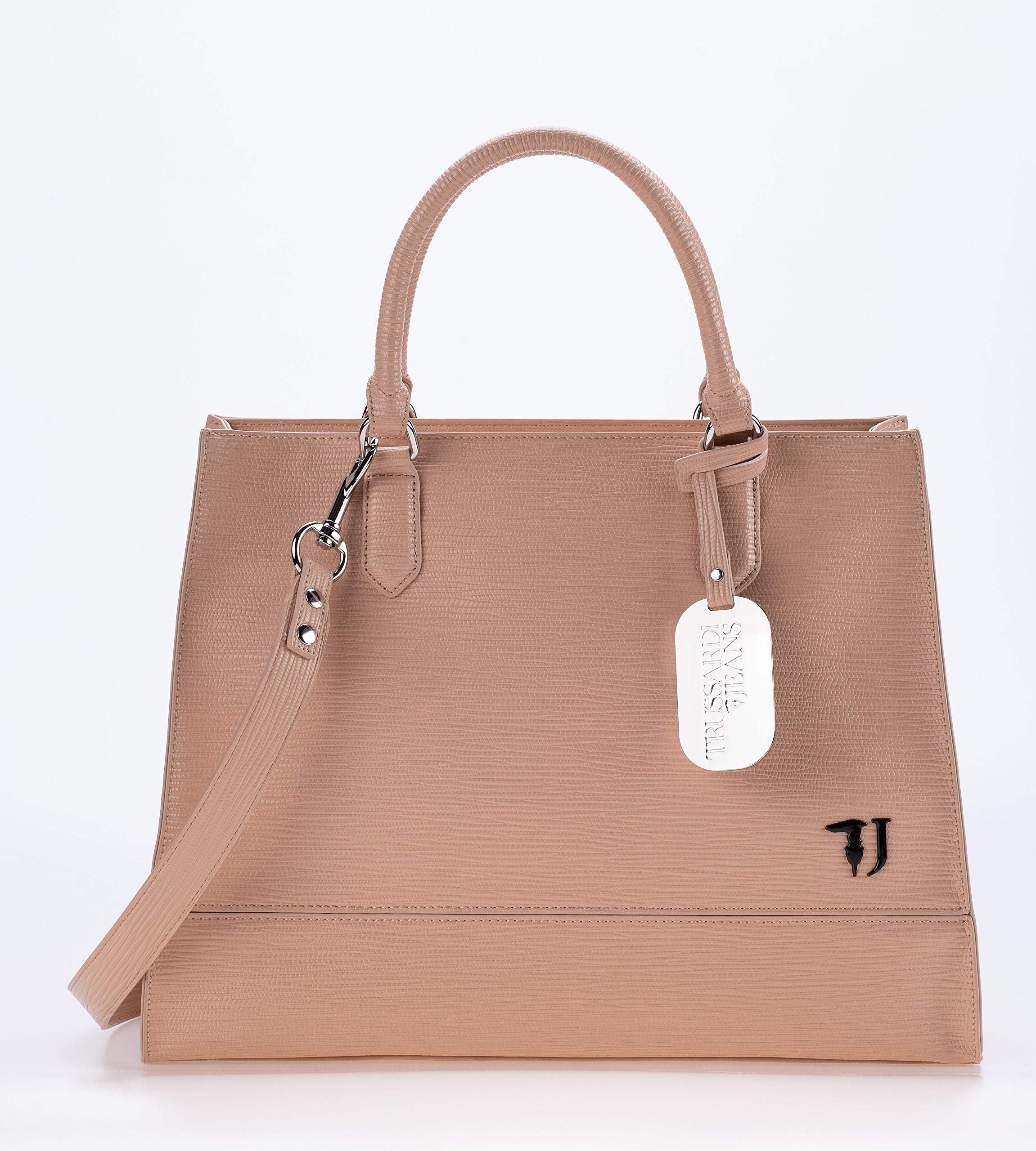 a2ace15d90 Trussardi Jeans BORSA A MANO/TRACOLLA T-EASY CITY TOTE LG ECOPELLE ...