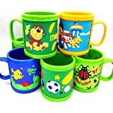 Gifts Online™ Set of 6 Kids Favourite Cartoon Characters Mugs - Return Gifts for Kids Birthday