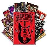 HK Studio Vintage Posters of Rock Music   Self-Adhesive Vinyl Decal Indie Posters for Room Aesthetic 90s   Old School, Retro