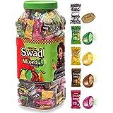 Swad Mixed Candies Jar, Kaccha Aam, Imli, Lemon And Guava, 300 Candies
