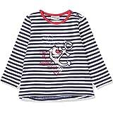 Salt & Pepper Gestreift Mit Anker Stickerei Camiseta de Manga Larga para Bebés