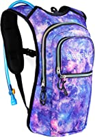 SoJourner Bags Rave Hydration Pack Backpack - 2L Water Bladder Included For Festivals, Raves, Hiking, Biking, Climbing,...